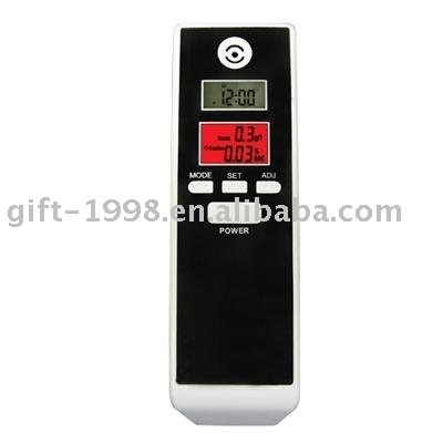 Dual Digital Breath Alcohol Tester  GHX-661S, dual display, with timer, with red backlight,