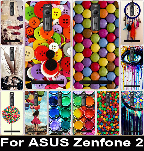 "Print Paintbox Cheetah Balloon Girl Chocolate Phone Cases Cover Skin Shell For Asus Zenfone 2 ZE551ML ZE550ML (5.5"") Case Cover(China (Mainland))"