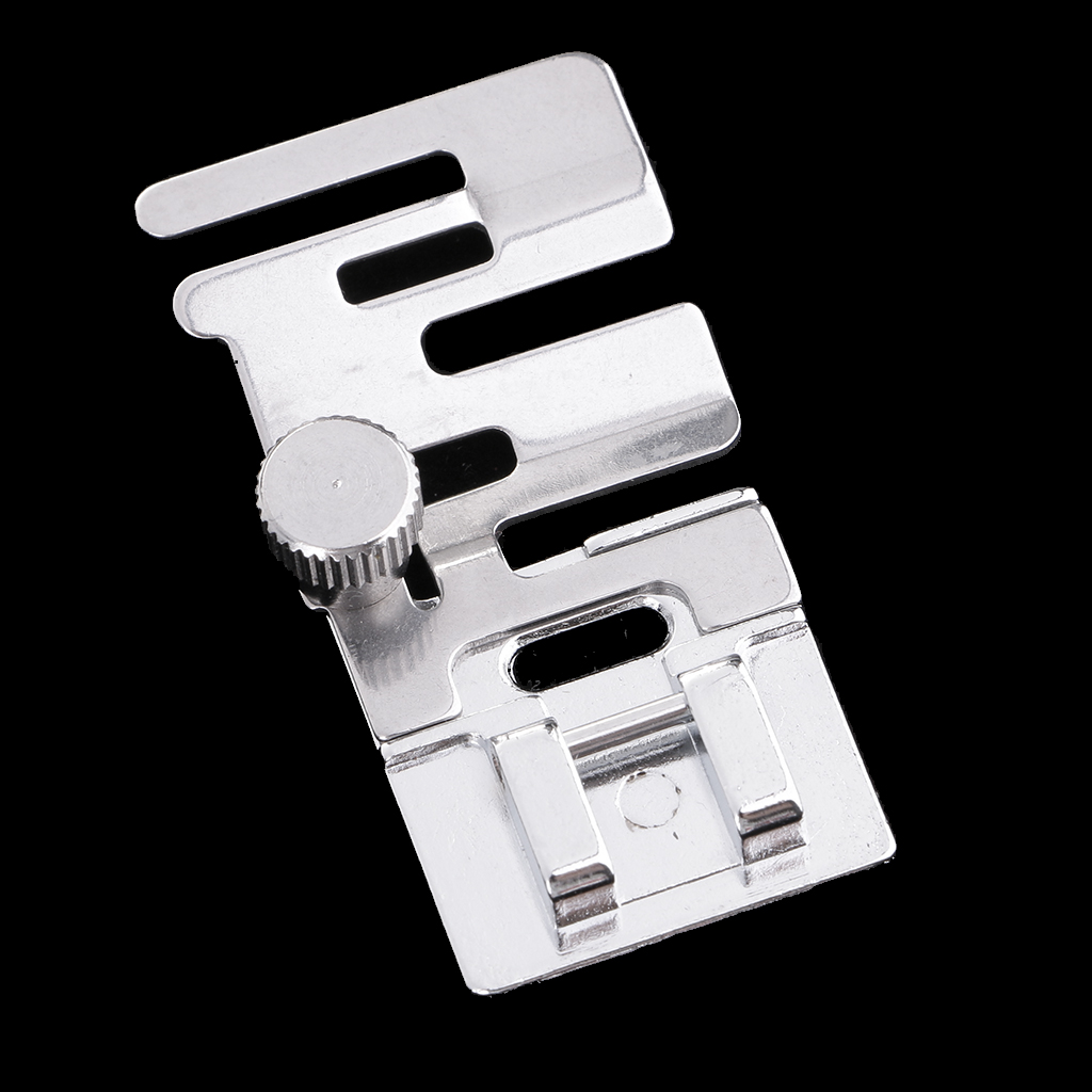 New Hot 1 Piece Stainless Steel Sewing Presser Foot Domestic Sewing Machine Elastic Presser Foot Sewing Machine Part Accessories