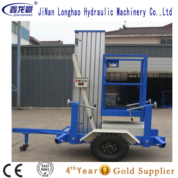 Best price portable aluminium hydraulic lift table for hotel hospital home(China (Mainland))