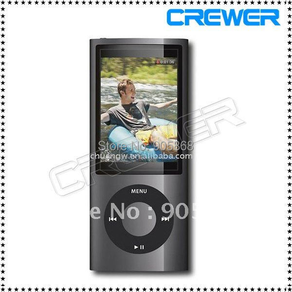 Slim 1.8'' 4th gen 8GB 9Colors for choose mp3 mp4 player fm radio ebook video player(China (Mainland))