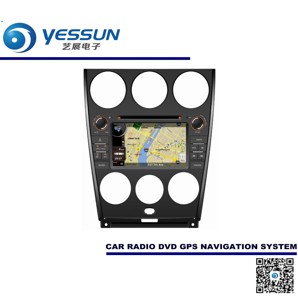 For Mazda 6 2007~2009 Car DVD Player GPS Navigation Audio Video Multimedia System(China (Mainland))