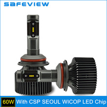 Buy SAFEVIEW Hi/Lo 9007 LED Bulb 30W 4200LM 5000K 6000K Super Bright Light Car Styling Headlamp Conversion Kit for $34.48 in AliExpress store