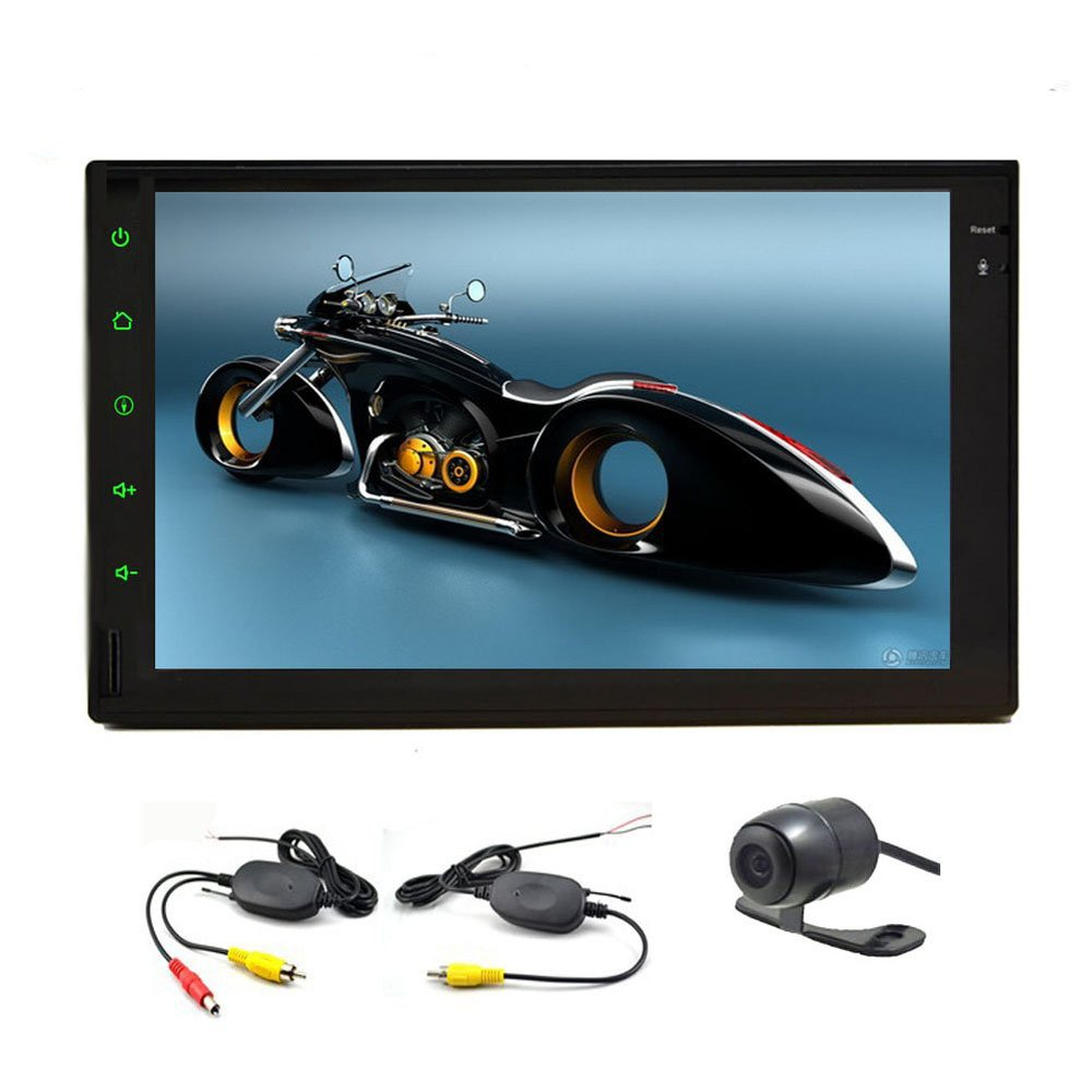 HD Car Video Player Tablet 7 inch Double 2 din GPS Navigation Capactive PC MP3/MP4/FM/AM Radio In Dash Headunit Wireless Camera(China (Mainland))