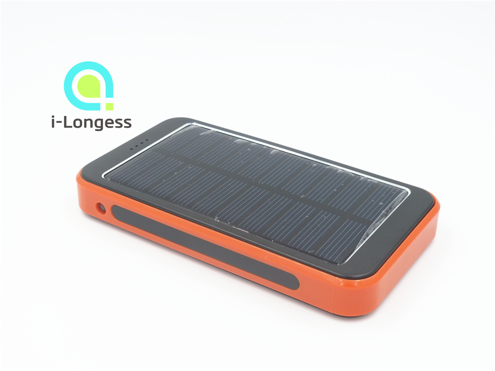 9800mAh Power Bank W/ Light Dual USB Portable Solar Panel Battery Charger external power bank portable solar charger for iphone(China (Mainland))
