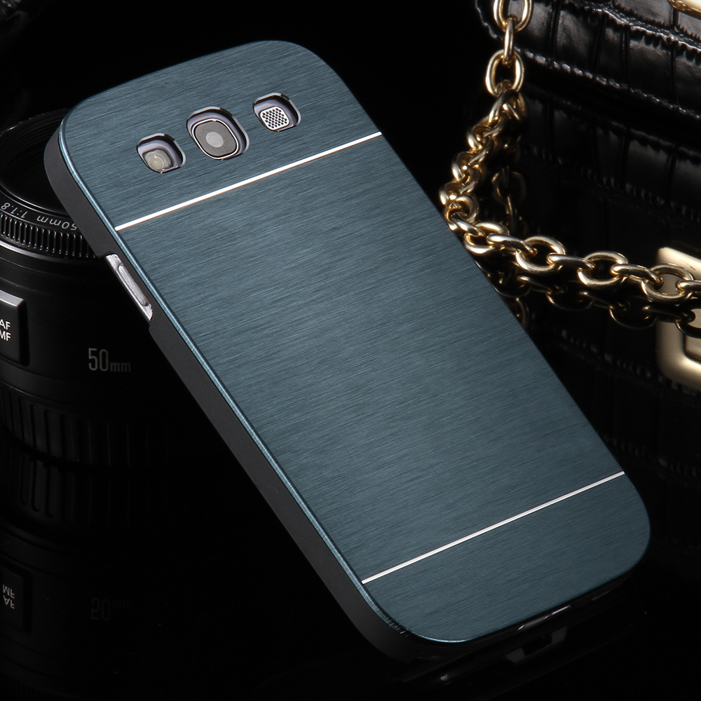 For Samsung Galaxy S3 Luxury Fashion Slim Metal Cases Ultra Thin Aluminum Cell Phone Case For Samsung Galaxy S3 I9300 Back Cover(China (Mainland))