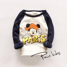 IVE 2016 New Children Sweatshirts Boys Hoodies Girls Long Sleeve T-shirt Kids Warm Top Clothes IU427(China (Mainland))