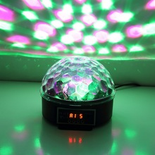 6 Colors LED Crystal Magic Ball Effect Light Disco DJ Stage Party yks(China (Mainland))
