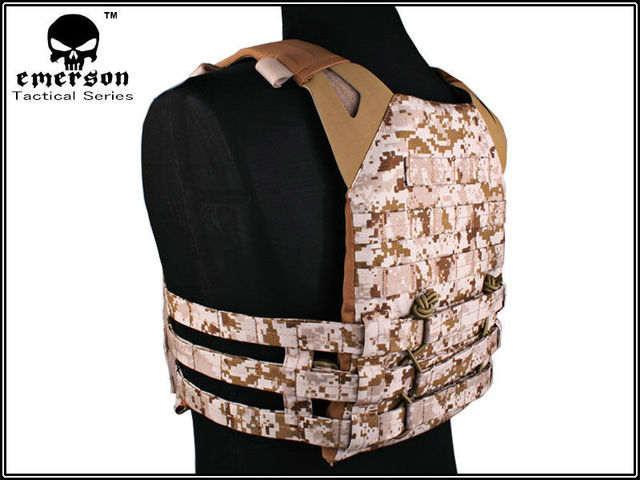Emersongear JPC Vest Jumper carrier simplified version Tactical Airsoft Military Combat Gear 7344D DD Emerson