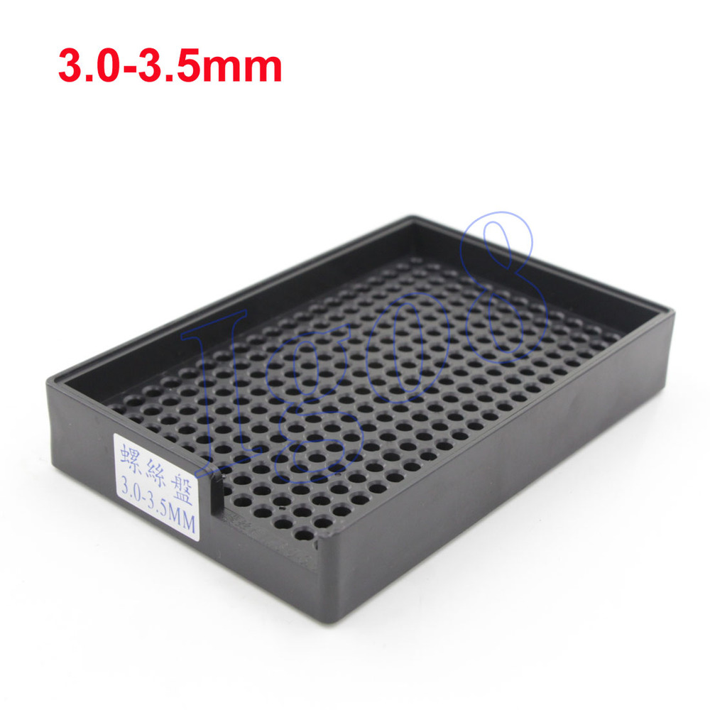High Quality Screw Tray Holder Plastic 3.0-3.5mm Screw Tray 2PCS(China (Mainland))