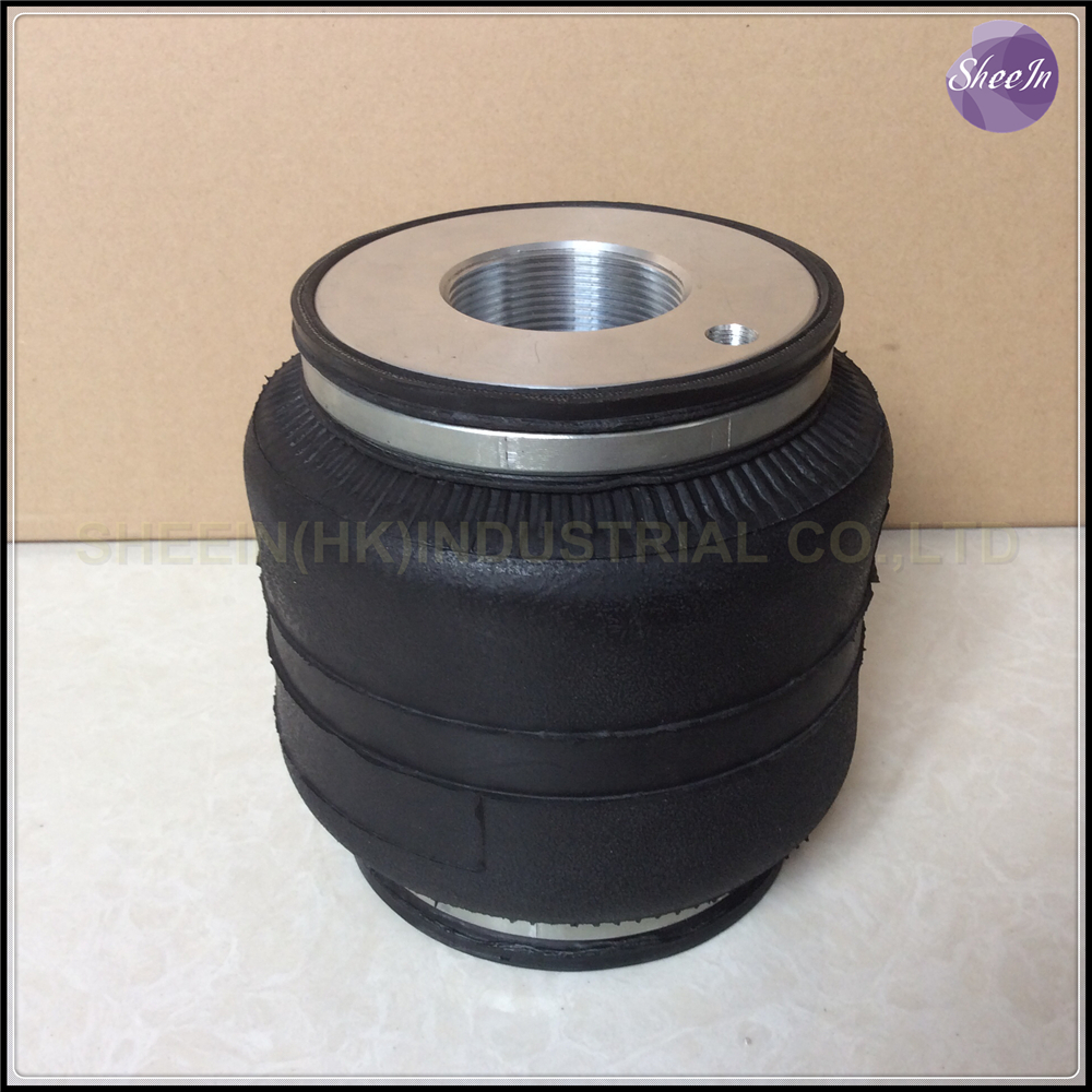Фотография SN142146BL1-DT/Fitted D2 coilover (Thread pitch M50*2mm) Air suspension single convoluted rubber airspring/airbag shock absorber