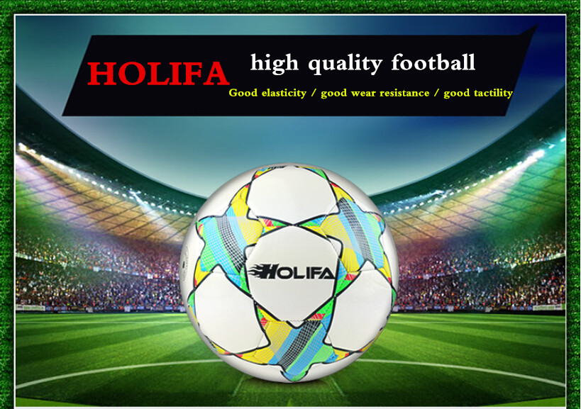 Genuine HOLIFA 5 # 11 people international standard adult football ball training competition dedicated PU leather soccer ball(China (Mainland))