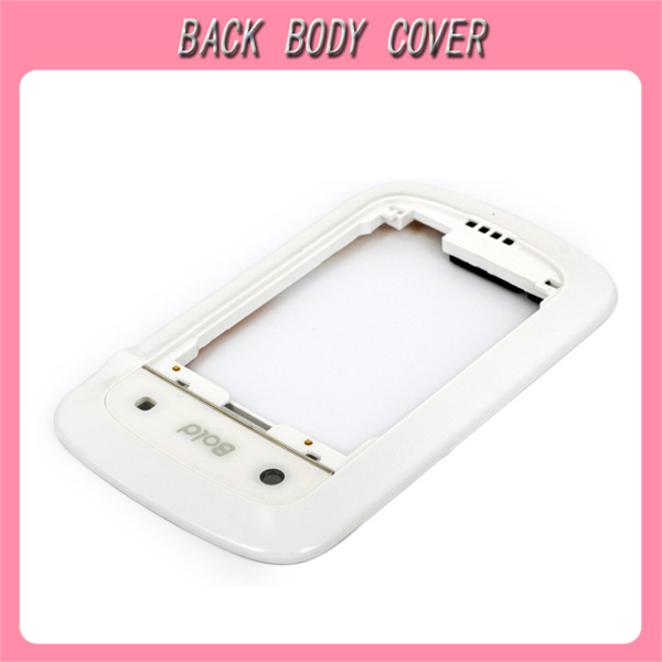 FREE SHIPPING! Original Middle Frame Housing Cover For Blackberry 9900 9930 Mobile Phone (Color: White)(China (Mainland))