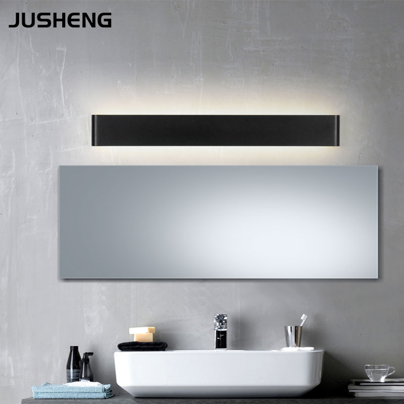 Black & White Indoor Aluminum Wall Light Contemporary Style 100 240V AC LED Wall Lamp 36W Black ...