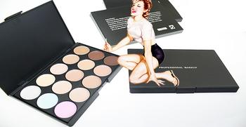 EMS or DHL Wholesale 15 colors makeup Camouflage / Concealer Neutral Palette (120pcs/lot)
