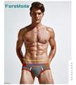 ForeMode ADDTEXOD 2016 New Men s Fashion Sexy Low Waist Cotton Underwear Mooning Triangle