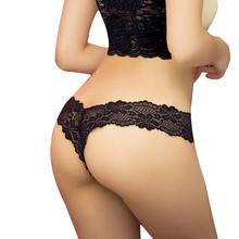 Buy Women Panties Bragas Thong Lace Lingerie G String Women's Underwear Black Sexy Lace Underwear Women Briefs for $1.29 in AliExpress store