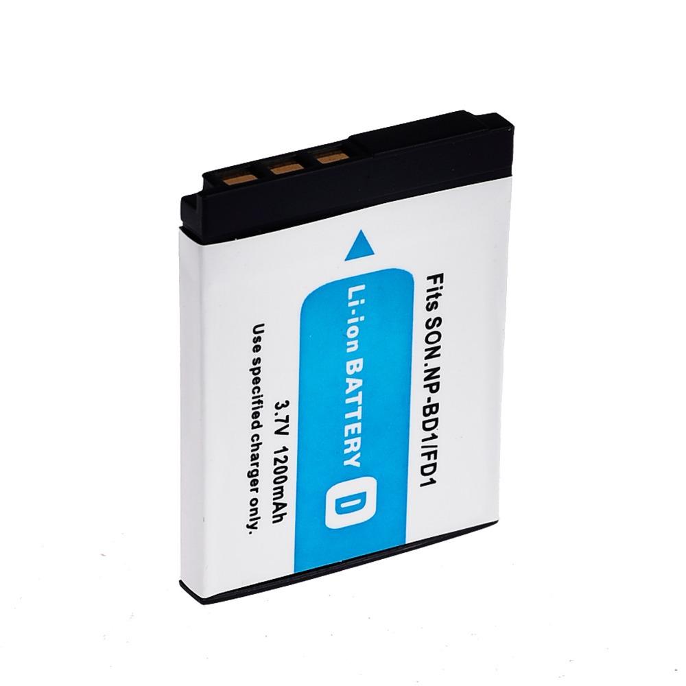 1200mAh NP BD1 NP BD1 NP FD1 NP FD1 Camera Battery For SONY DSC T300 TX1