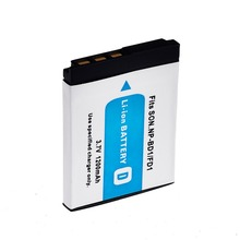 1200mAh  NP-BD1 NP BD1 NP-FD1 NP FD1 Camera Battery For SONY DSC T300 TX1 T900 T700 T500 T200 T77 T90 T70 T2 G3 S930