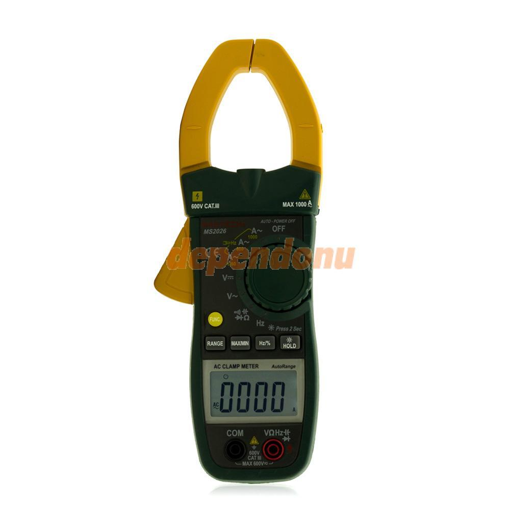MS2026 Portable LCD AC Mini Accurate Electronic Digital Clamp Meter Tool<br><br>Aliexpress