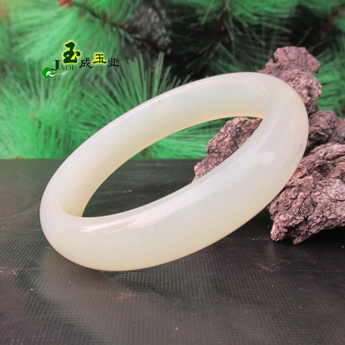 Natural jade bracelets Hydra gourmet white Xiuyan jade bracelet son jade jade bracelet genuine female models(China (Mainland))