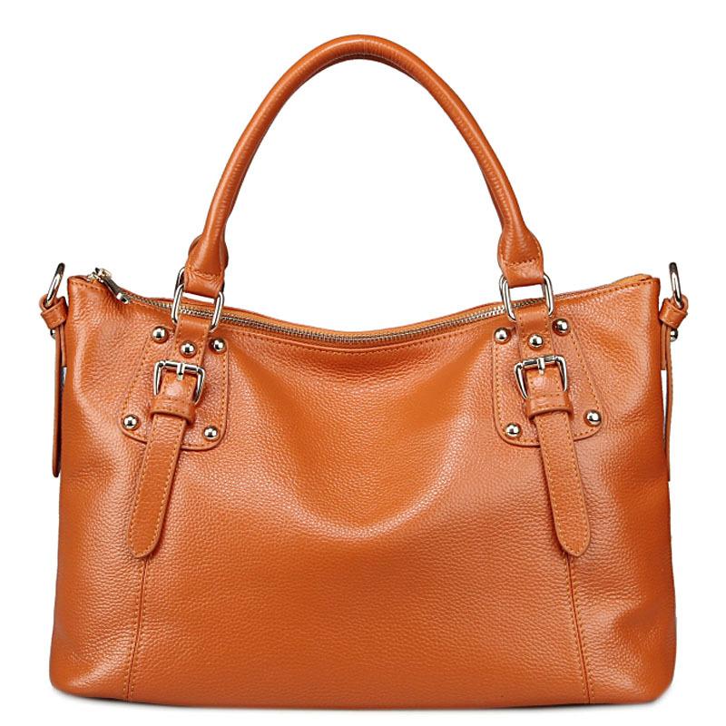 Фотография Hot Sale Paste 2016 Fashion Brand paste Genuine Leather Women Handbag Ladies Shoulder Bags Women Messenger Bags Tote Bolsas