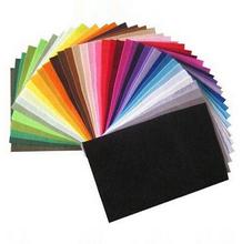 polyester,felt fabric,DIY felt fabric,non-woven felt, 30CMX20CM,42 colors/lot free shipping