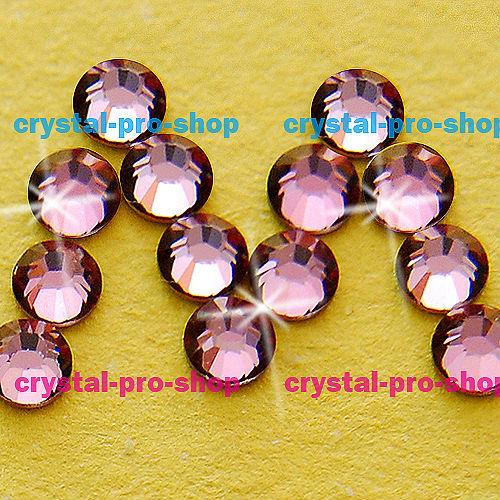ss9 GENUINE Swarovski Elements Antique Pink ( 001 ANTP ) 432 pcs ( NO hotfix Rhinestone ) Clear Crystal 9ss 2058 FLATBACK Glass(Hong Kong)