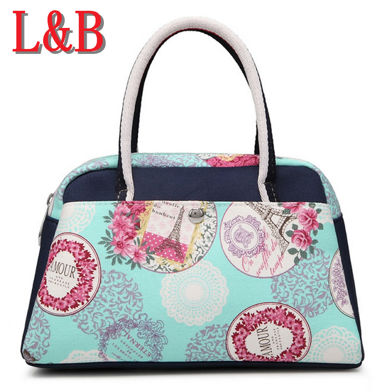 2016 nwe selling small canvas handbags fashion hand bag leisure bag print ladies bags Tracel Sport sac channel Brand Design(China (Mainland))