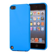 Fashion Candy Colors Soft TPU Silicone Shockproof Case for Apple ipod Touch 5 Touch 6 Mobile Cell Phone Protective Cover(China (Mainland))