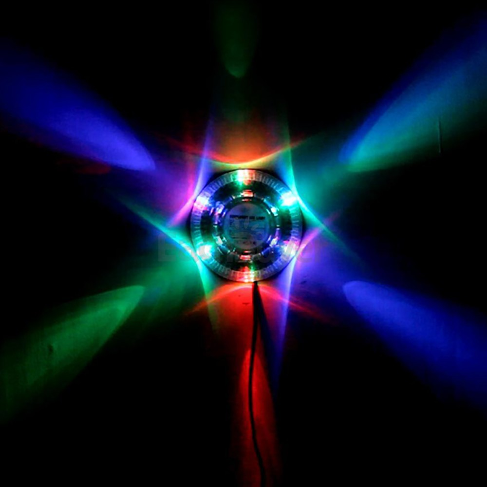 NEW 8W LED RGB Stage Lighting Bar Music Disco DJ Light Effect Auto Voice Acti