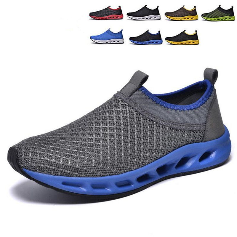48-37 New 2016 Summer Men's Shoes Air Mesh Plus Size Outdoor Shoes Male Large Size Casual Shoes Breathable Fashion Shoes women
