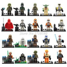 Star Wars Minifigures 20pcs Clone Trooper R2D2 Yoda Obi-Wan Darth Vader Building Blocks Sets Model Bricks Toys Lego Compatible(China (Mainland))