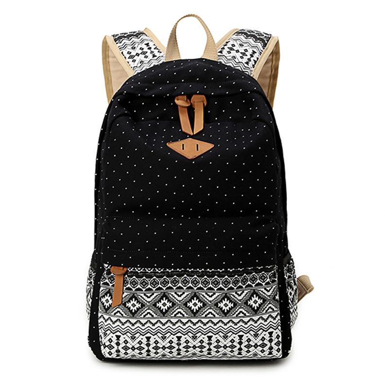 school girls shoulder school bags for teenage girls ethnic backpack ...