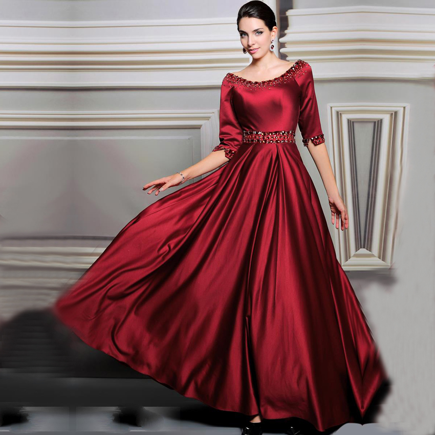 3 4 sleeve evening dresses uk finance