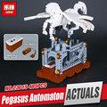 Lepin 23015 485Pcs Technic Series The Pegasus Automaton Mechanical Flying Horse Set Educational Building Blocks Bricks
