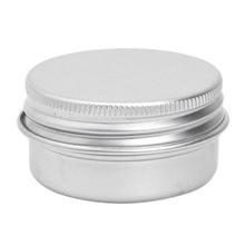 10pcs Cosmetic Cream Make Up Lip Jar Tin Container Screw 15ml(China (Mainland))