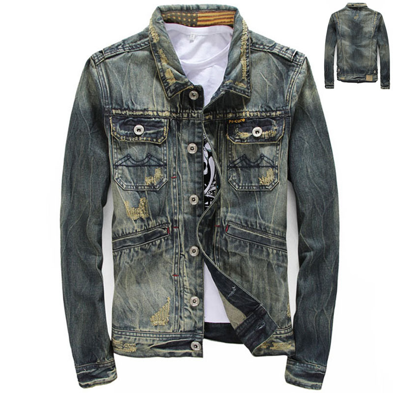 Cool Denim Jackets Men | Outdoor Jacket