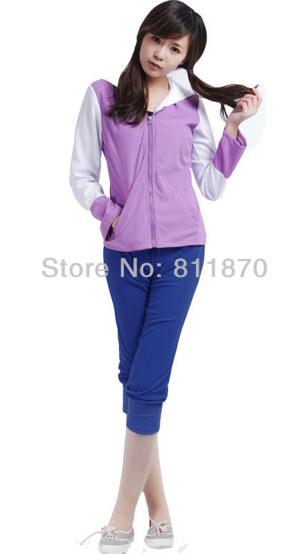 Naruto Cosplay Hyuga Hinata 2nd Generation Suit Womens Dress Casual Wear Sports Suit Costume Hoodie And PantsОдежда и ак�е��уары<br><br><br>Aliexpress