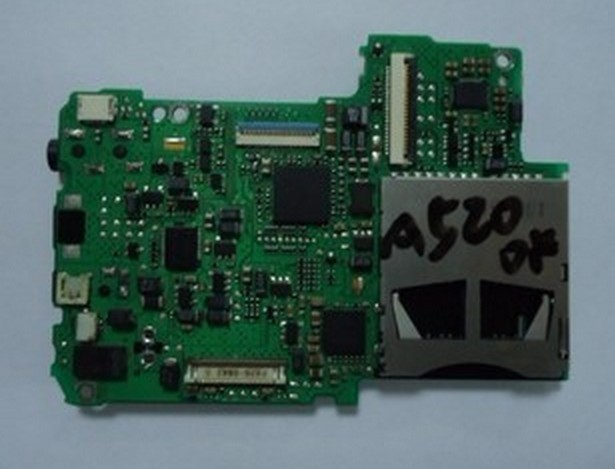 Digital Camera Replacement Repair Parts For CANON PowerShot A520 PCB Mainboard Mother Board(China (Mainland))
