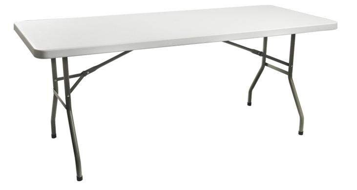 Popular restaurant folding tables buy cheap restaurant - Plastic folding dining table ...