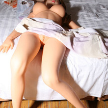 New Design Full Silicone Real Sex Dolls With Metal Skeleton 148cm Anne Realistic Solid Mini Adult