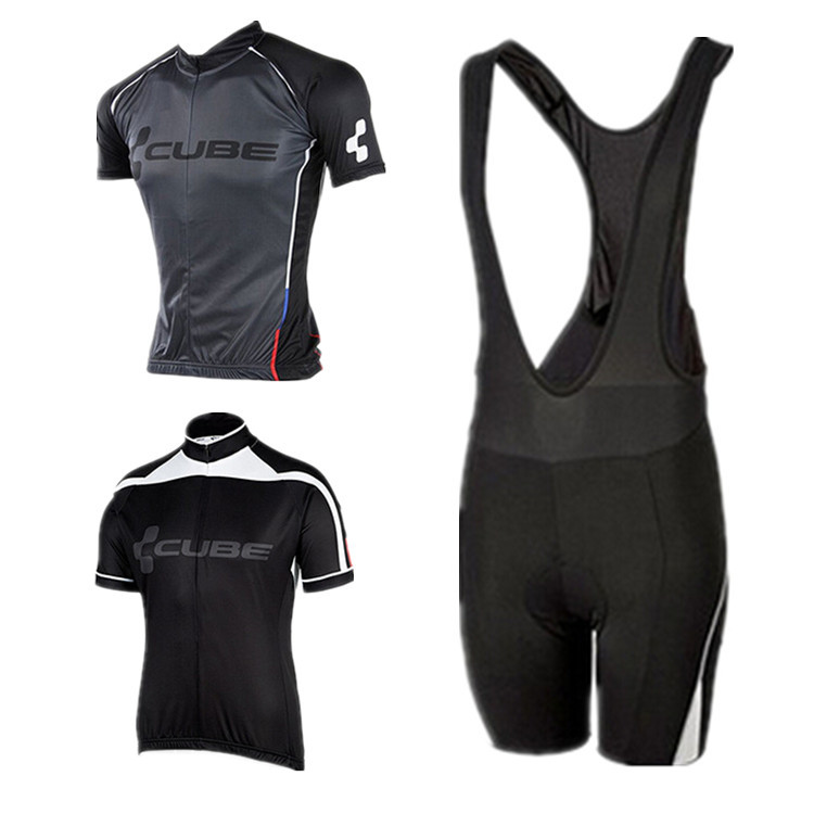2015 CUBE cycling jersey ropa ciclismo cycling clothing 2015 CUBE Team bike kit bicycle clothes(China (Mainland))