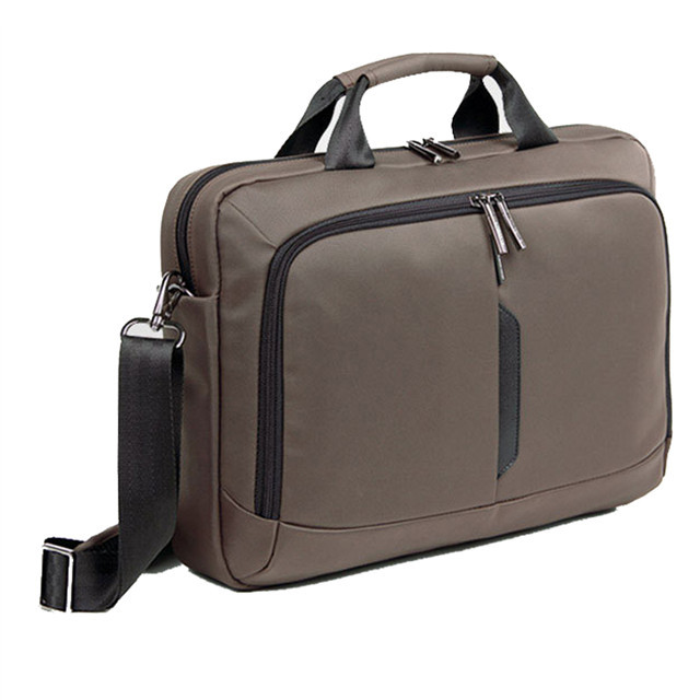 Hot Sale Black&Brown Nylon Laptop Bag Business Men Laptops Briefcase, 14 inch Computer Accessories Notebook Bags A700(China (Mainland))