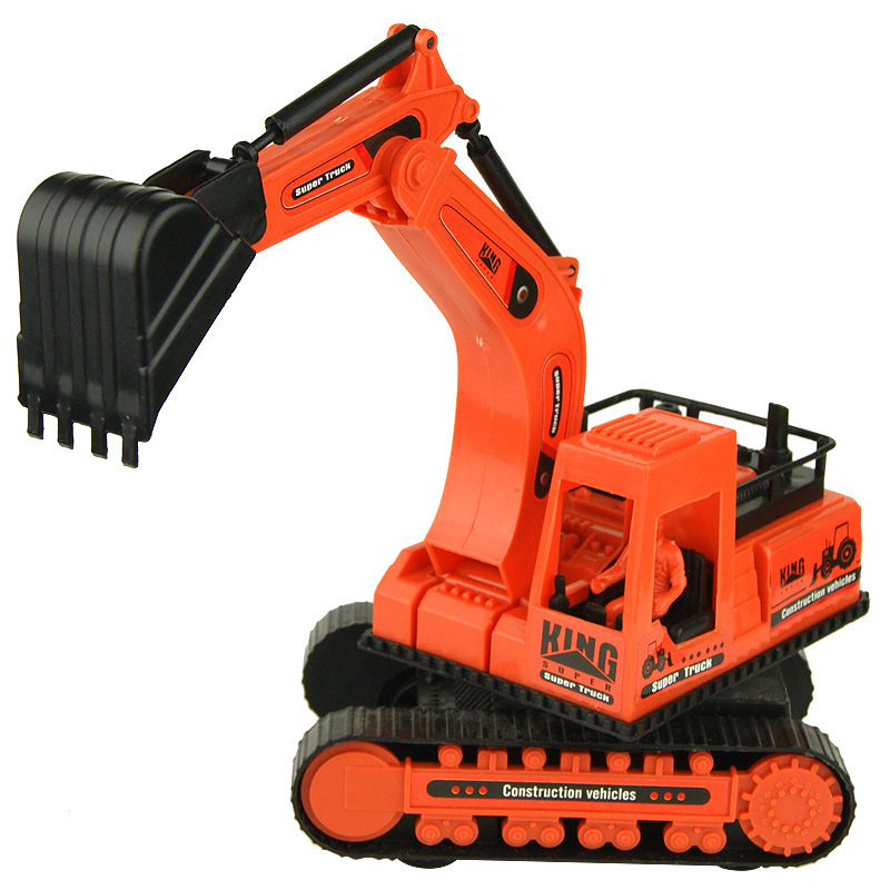 High Quality Kids Toy Car Cheap Plastic Toys Crane Tipcart Children Toy Piece Excavator Toys Cars Models Christmas Birthday Gift(China (Mainland))