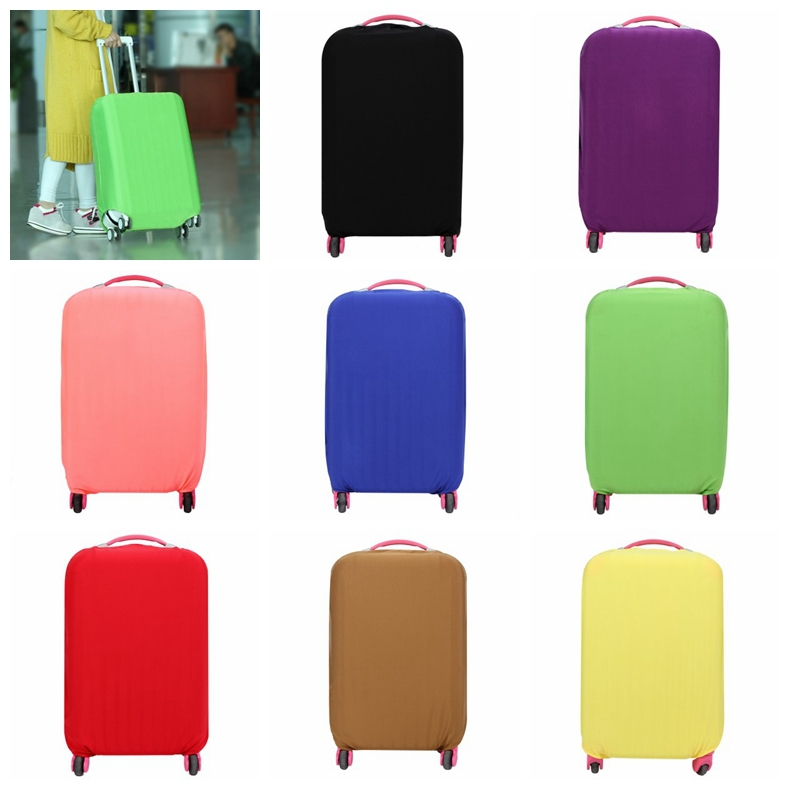 S M L Cute Flag Luggage Protector Suitcase Cover Bag Dust-proof Travel Suitcase 3 Color(China (Mainland))