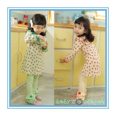 2013 new freeshipping children set /clothing set /cute cherry/ long sleeve Tshirt+trousers 5sets/1lot hotsale<br><br>Aliexpress