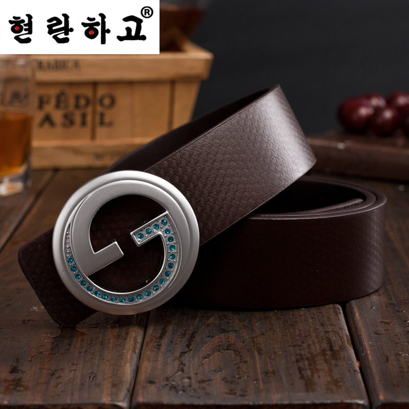 2017 now brand BELT designer mens luxurious belt high quality leather letter belt Original Casual Jeans straps belts for women(China (Mainland))
