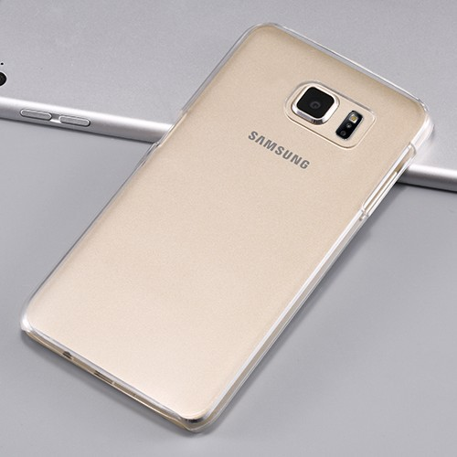 50pcs/lot Ultra thin Crystal Clear Case For Samsung S6 G9200 Accessories Frosted Transparent Hard Back Cover For Samsung S6