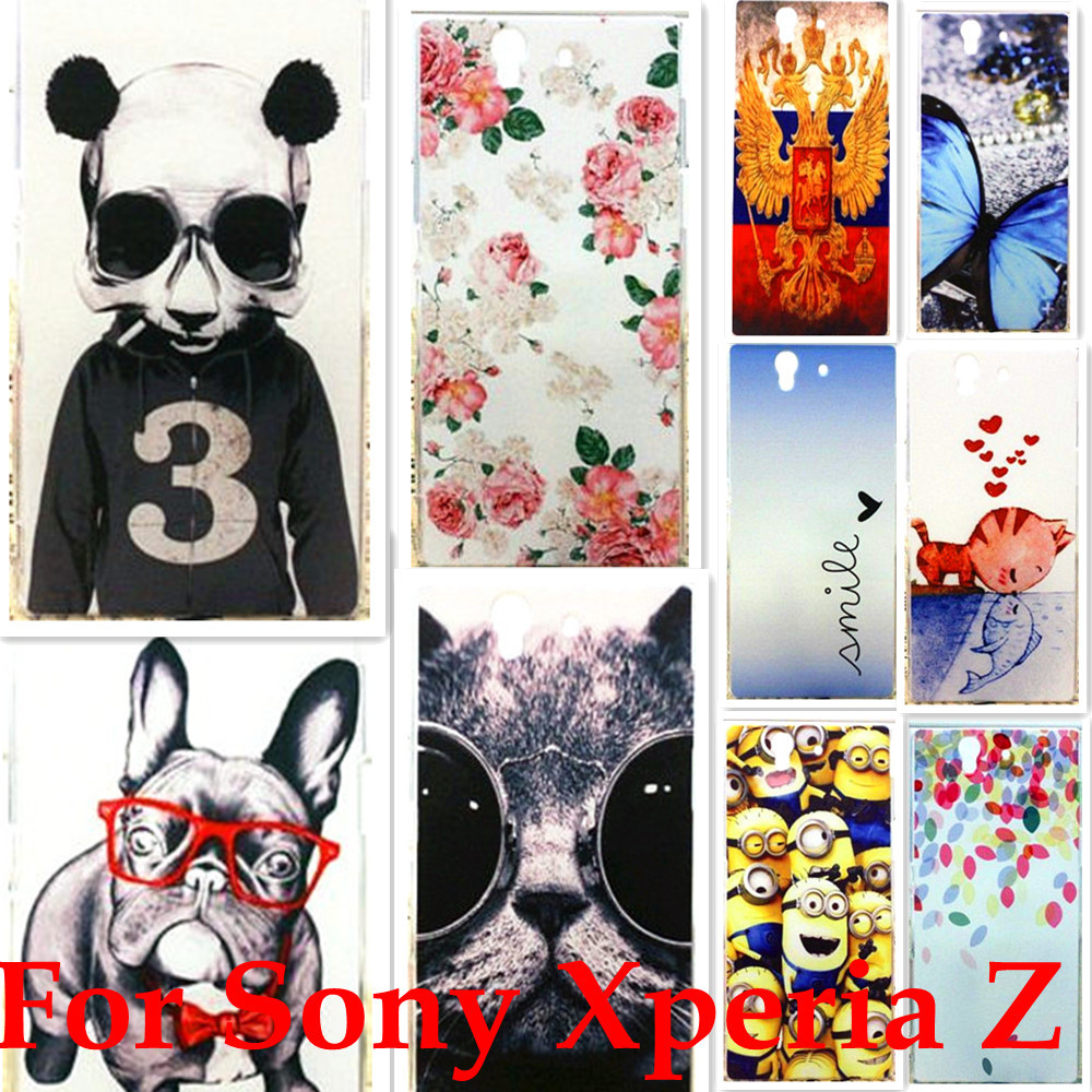 So-02e Cell Phones Hard Case Skin Cover for sony ericsson for sony xperia Z L36H C6602 C6603 Wholesales capinhas(China (Mainland))